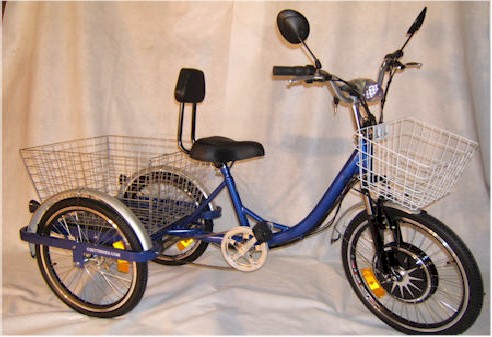 Motorized Adult Tricycle